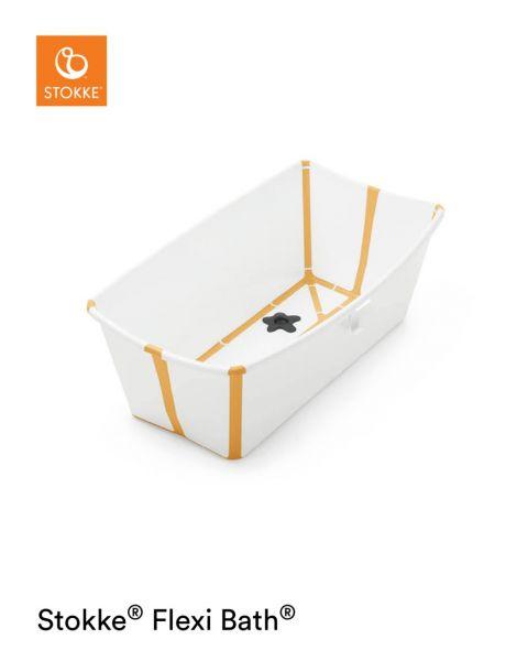 Flexi Bath / White Yellow