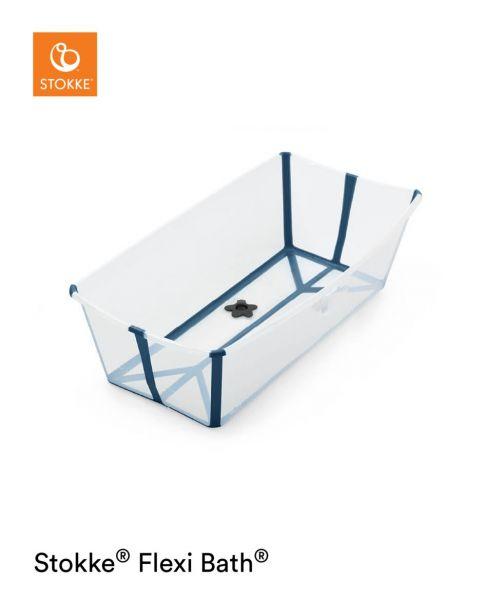 Flexi Bath XL / Transparant Blue