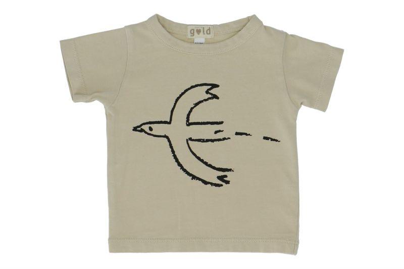 T-shirt Tanis Kids / Bird Natural