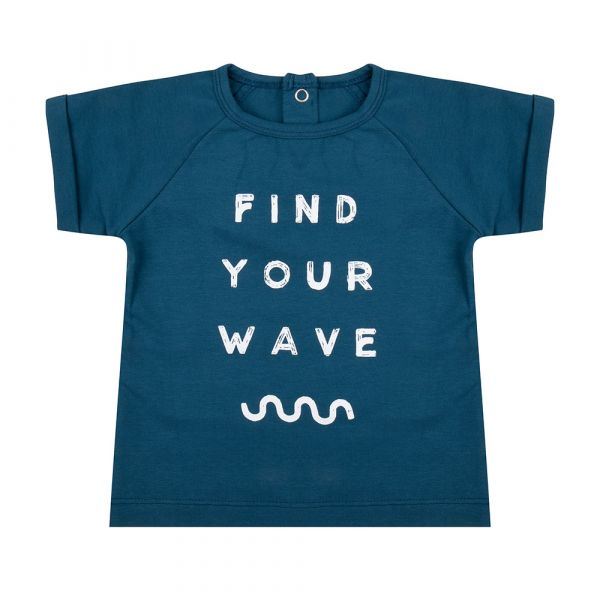 Shirt Find Your Wave / Legion Blue