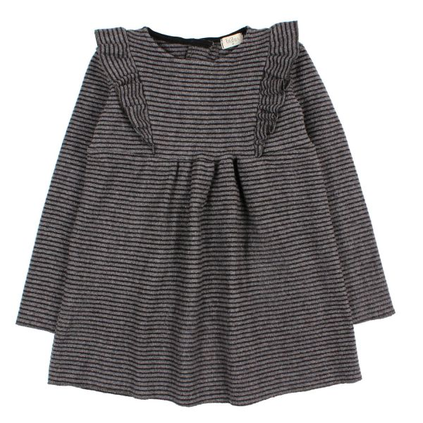 Eva Dress / Grey Black