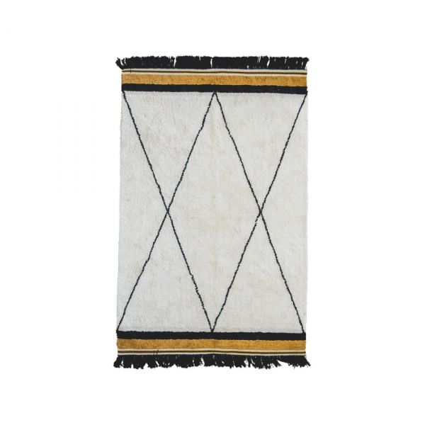 Vloerkleed  /  Rug Ethnic Ocher (120 x 170)