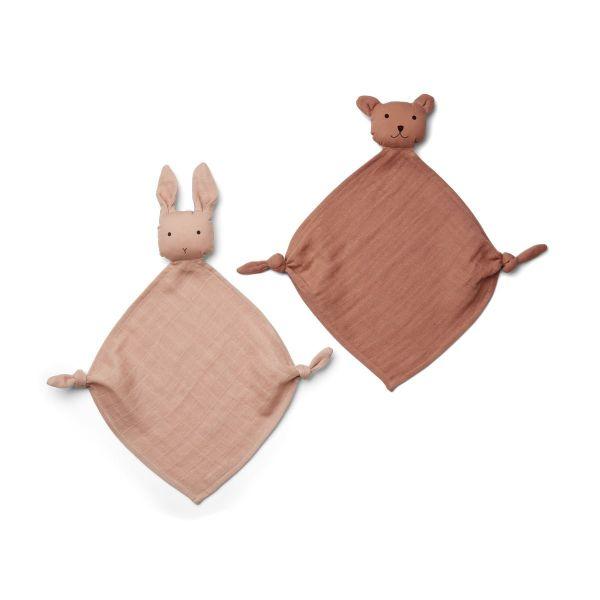 Yoko Mini Cuddle Cloth 2-pack / Rose Mix