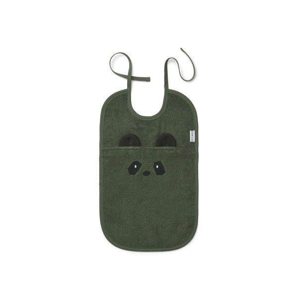 Theo Terry Bib / Panda Hunter Green