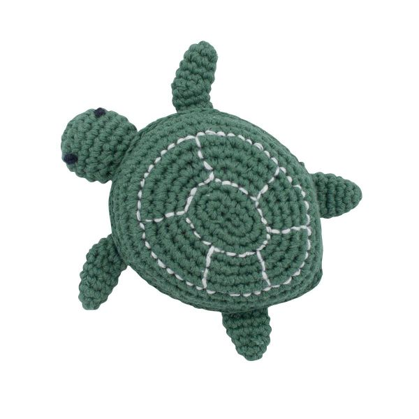 Crochet rattle / Triton the Turtle