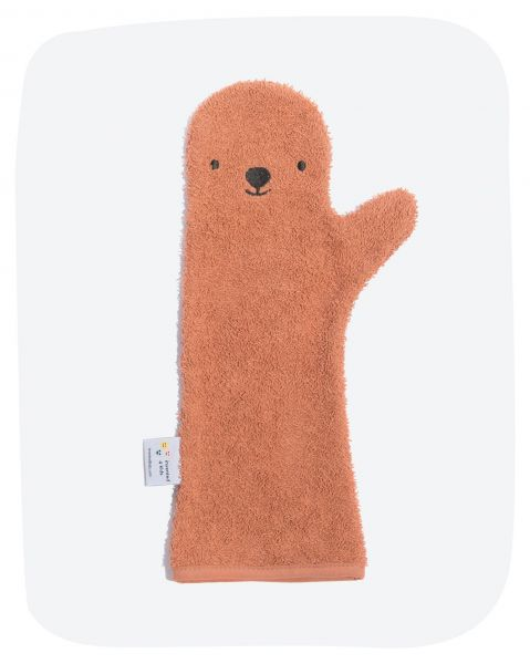 Baby Shower Glove / Bear Rust