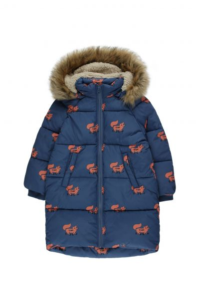 Foxes Padded Jacket / Light Navy Sienna