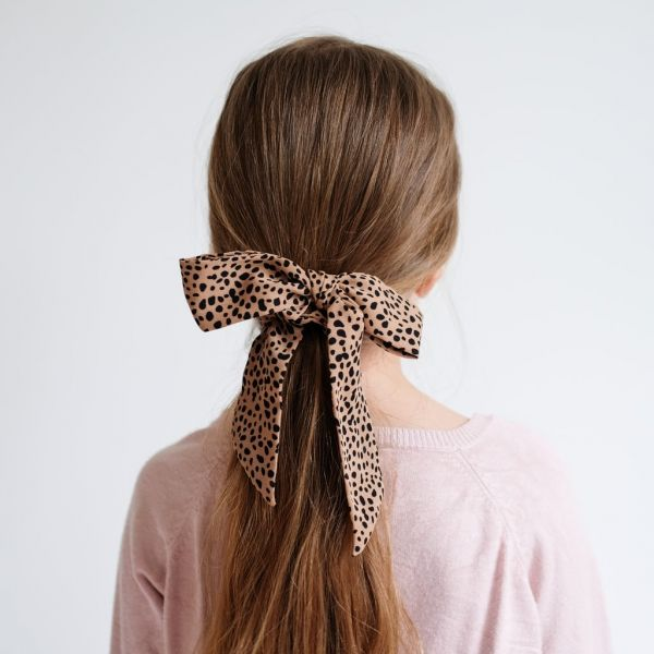 Leopard Scrunchie / Brown