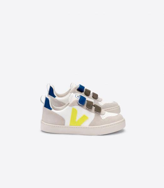 Sneaker V-10 Bonton Fluo Indigo