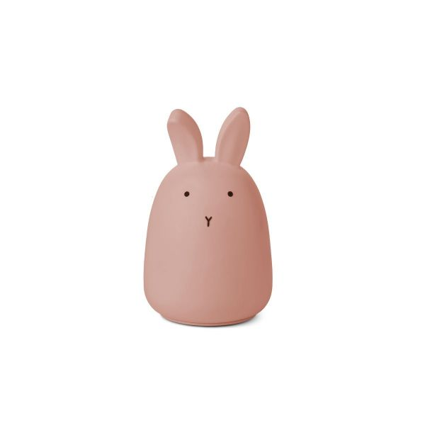 Winston Night Light / Rabbit Dark Rose