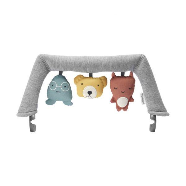 Speelgoed voor wipstoeltje - knuffelvriendjes