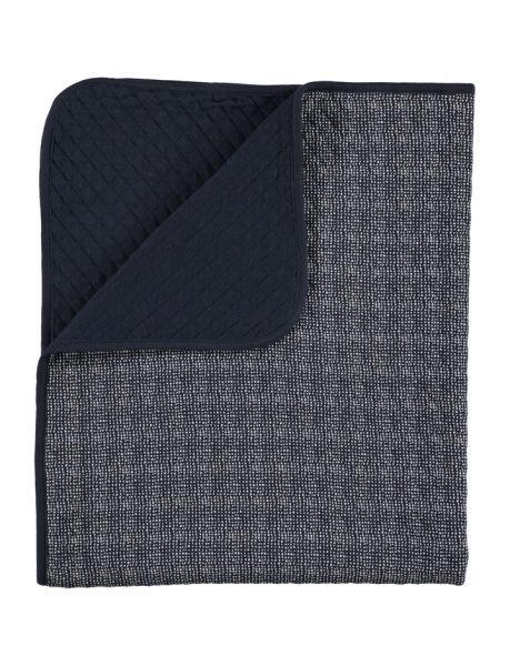 Lux printed blanket / Dark Blue