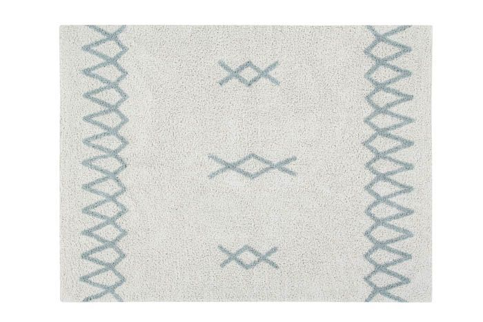 Washable Rug Atlas / Vintage Blue