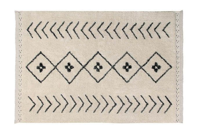 Washable Rug Bereber Rhombs Large