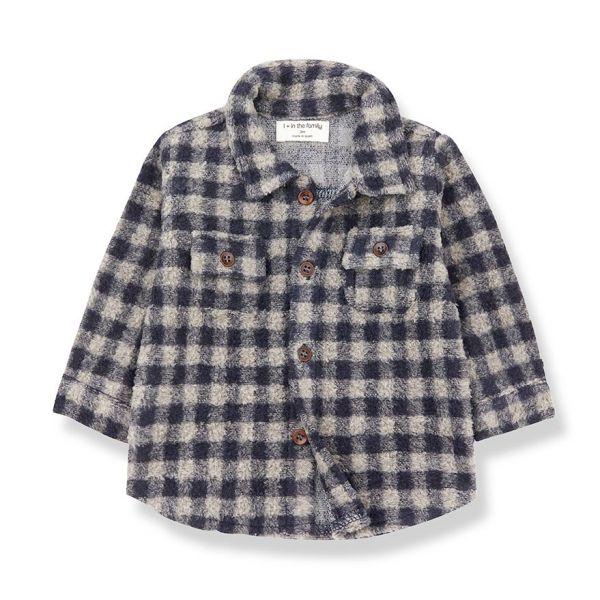 Pal Shirt / Beige - Blue Notte