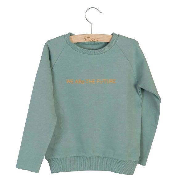 Sweater Caecilia Print / Chinois Green
