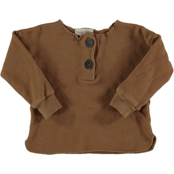 Acorn Warm Fleece Sweater / 22 Caramel