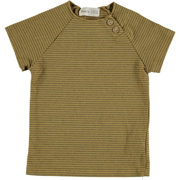 Clover Striped T-shirt / Mustard
