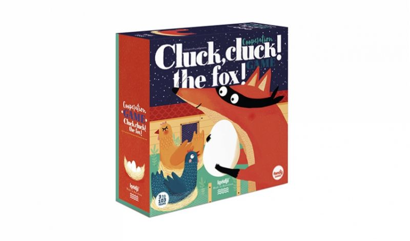 Puzzel - Cluck, cluck! The Fox!
