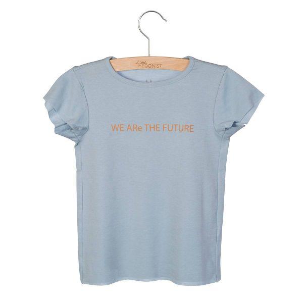 T-shirt Dean Print / Blue Fog