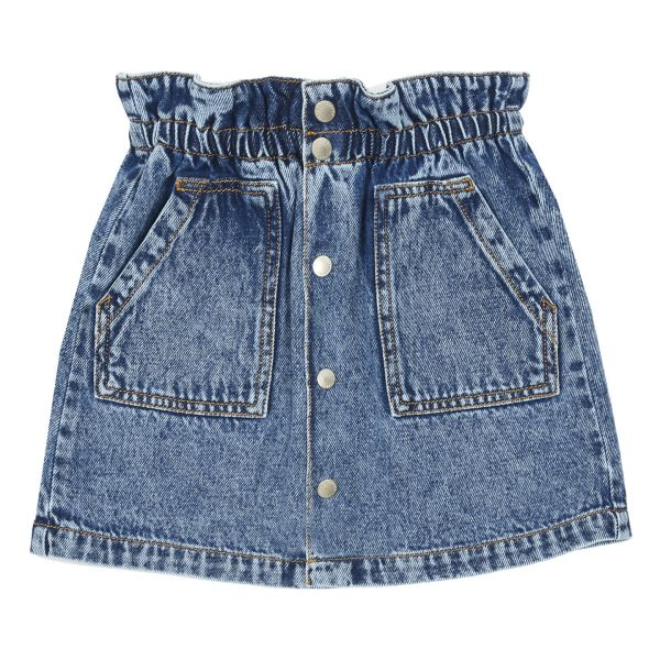 Denim Mini Skirt / Denim Stonewashed
