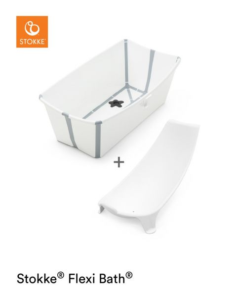 Flexi Bath Bundle / White