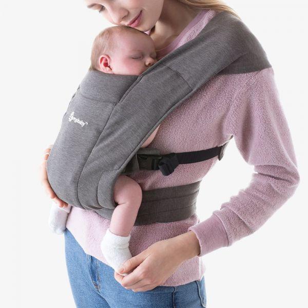 Embrace Newborn Carrier / Heather Grey