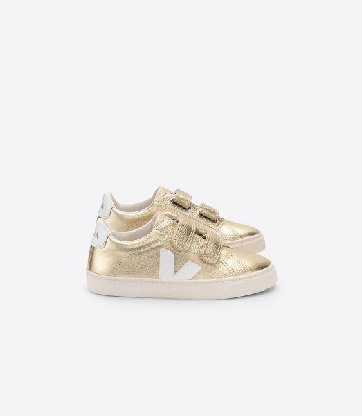 Sneaker Esplar Gold White