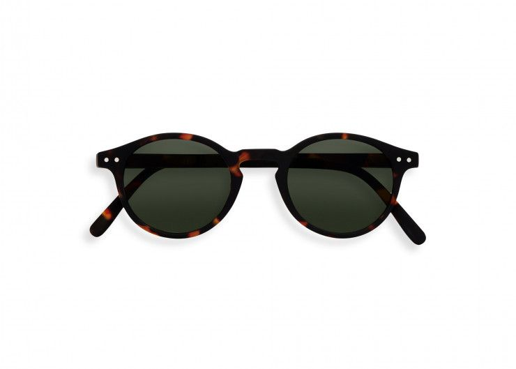 SUN 11-16 year / #H Tortoise Green Lenses
