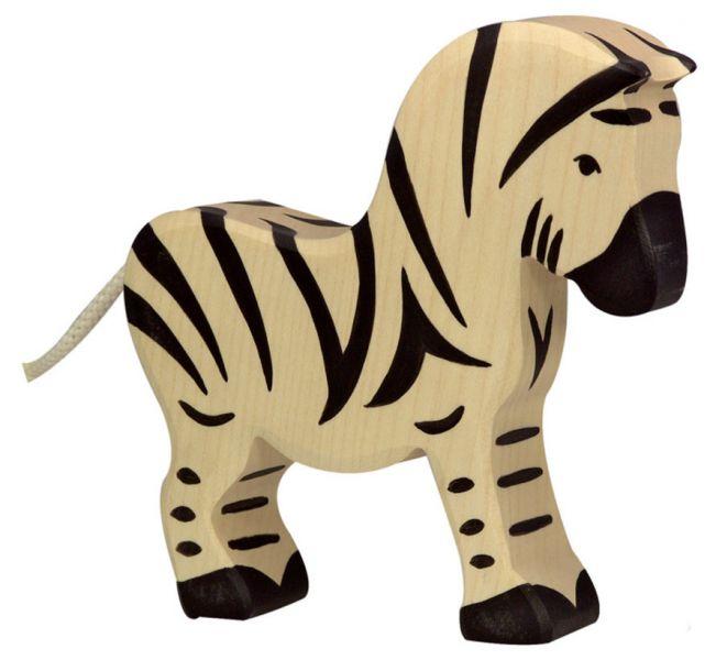 Houten Zebra