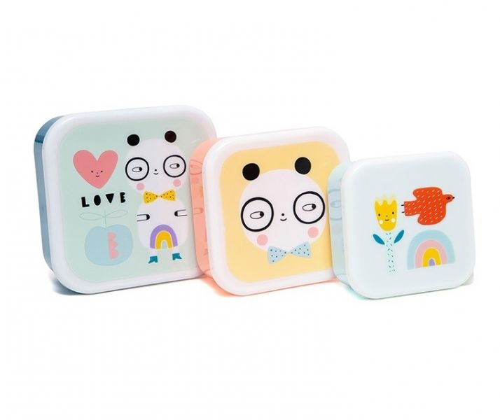 Lunchbox Set / Panda Love