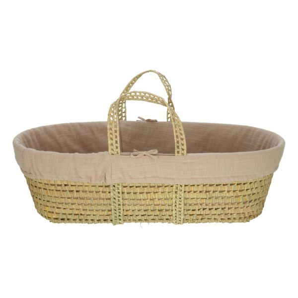Moses Basket Incl. Covering / Lotus
