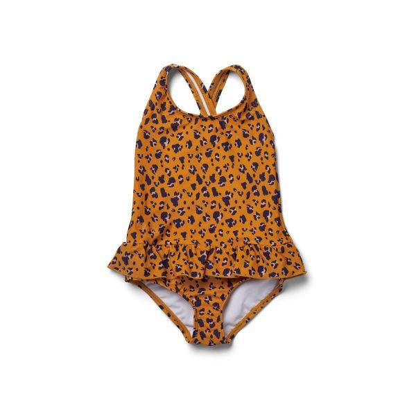 Amara Swimsuit / Mini Leo Mustard