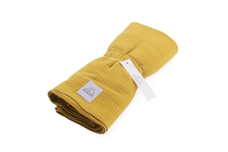 Swaddle 130 x 120 / Yellow