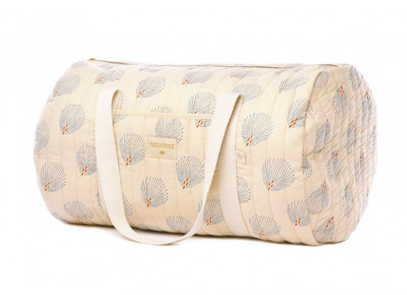 New York Weekend Bag / Blue Gatsby - Cream