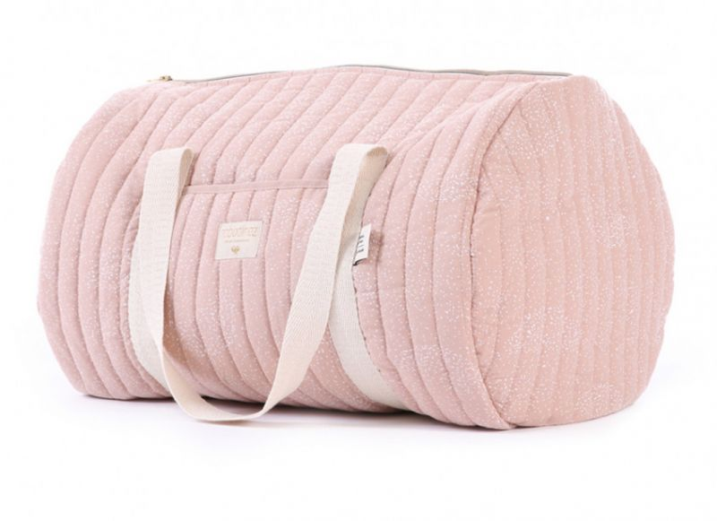New York Weekend Bag / White Bubble - Misty Pink