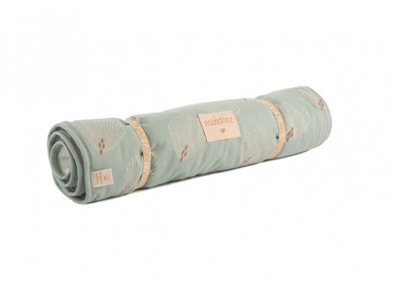 Changing Pad Nomad / White Gatsby - Antique Green