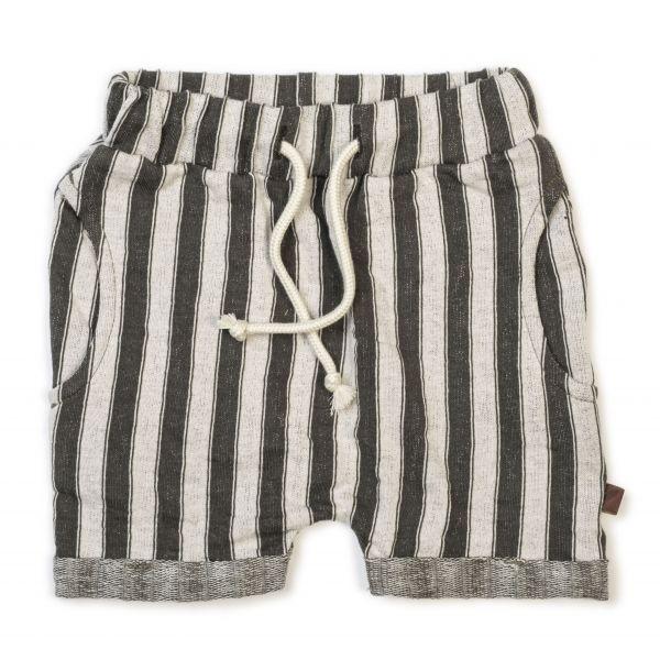 Harem Shorts / Slate Stripe