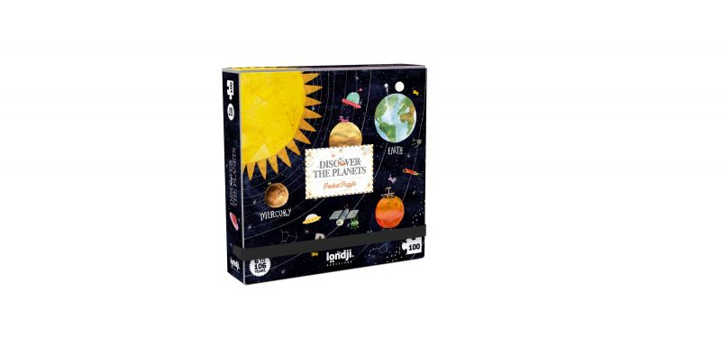 Pocket Puzzle / Discover The Planets