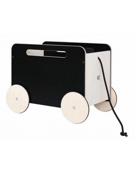 Toy chest on Wheels - blackboard