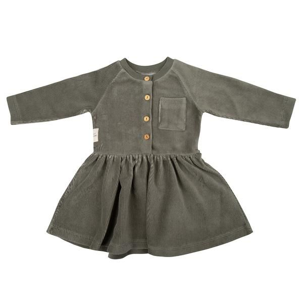 Dress Corduroy / Green