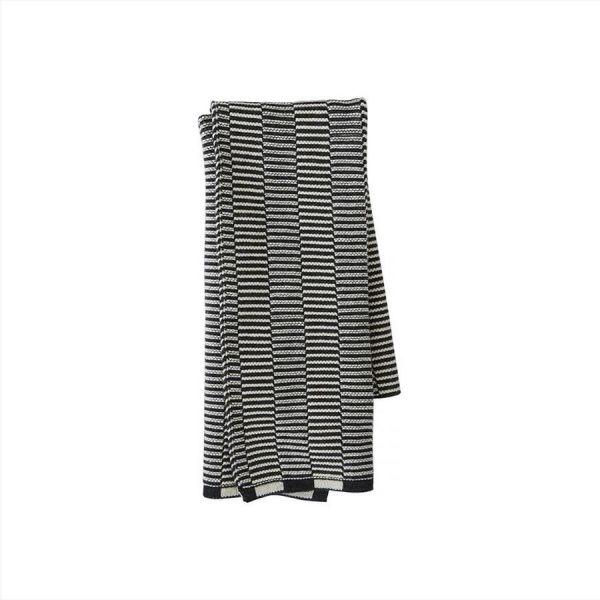 Stringa Mini Towel - Offwhite / Anthracite