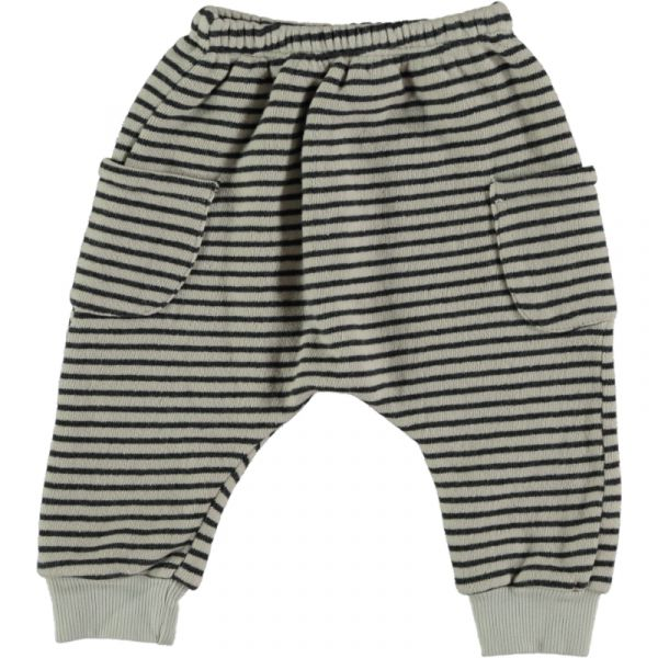 Woodpecker Striped Warm Fleece Pant / 15 Stone