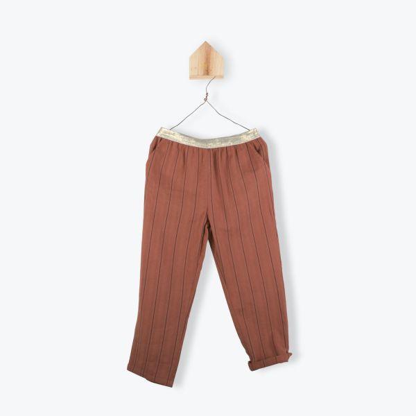 Pantalon Coton / Paprika