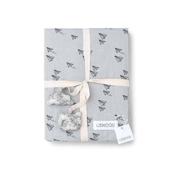 Dekbedovertrek / Paperplane Dumbo Grey