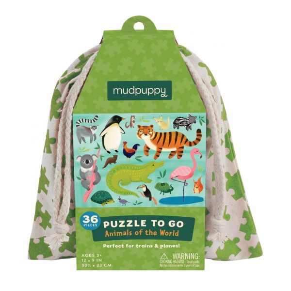 Puzzle To Go  / Animals Of The World