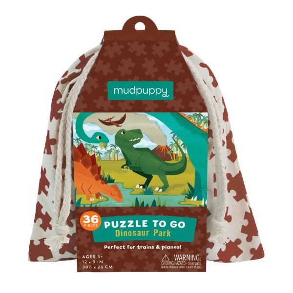 Puzzle To Go  / Dinosaur Park