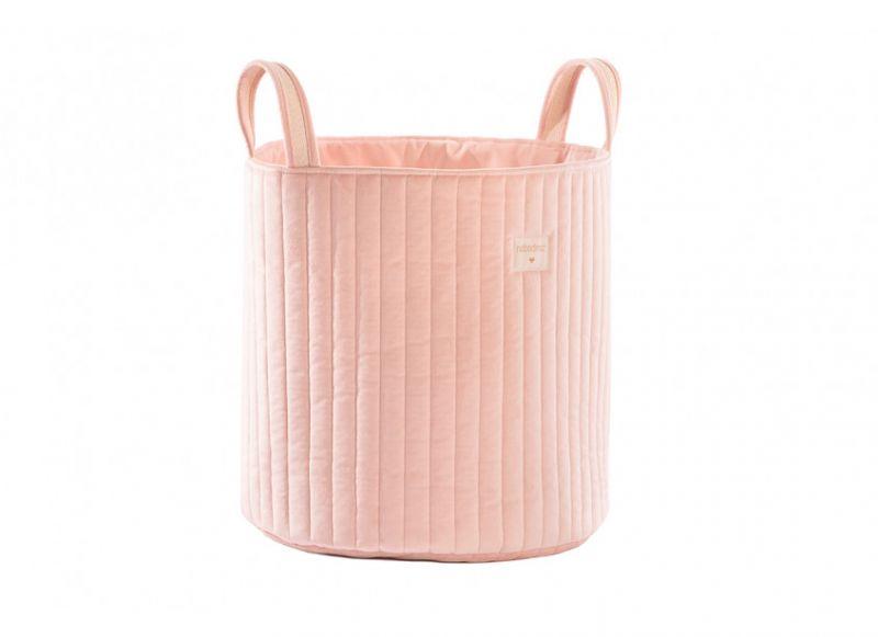 Savanna Velvet Toy Bag / Bloom Pink