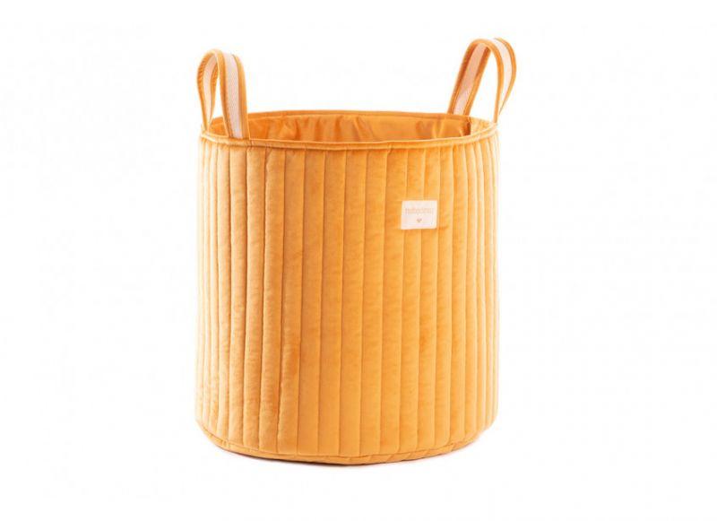 Savanna Velvet Toy Bag / Farniente Yellow