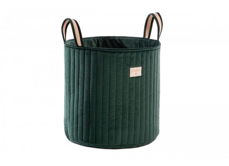 Savanna Velvet Toy Bag / Jungle Green
